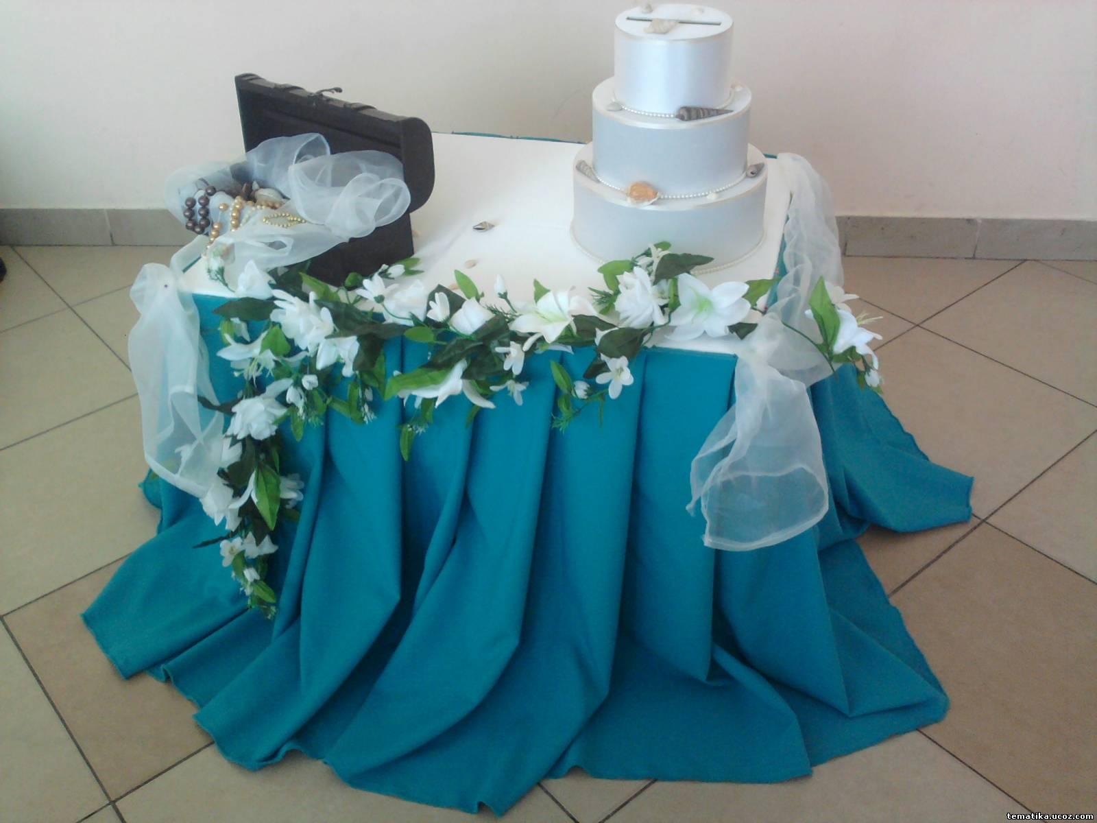 Стол для подарков на свадьбу